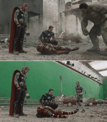 CGI dalam film Avengers - Mengenal Teknologi CGI dalam film