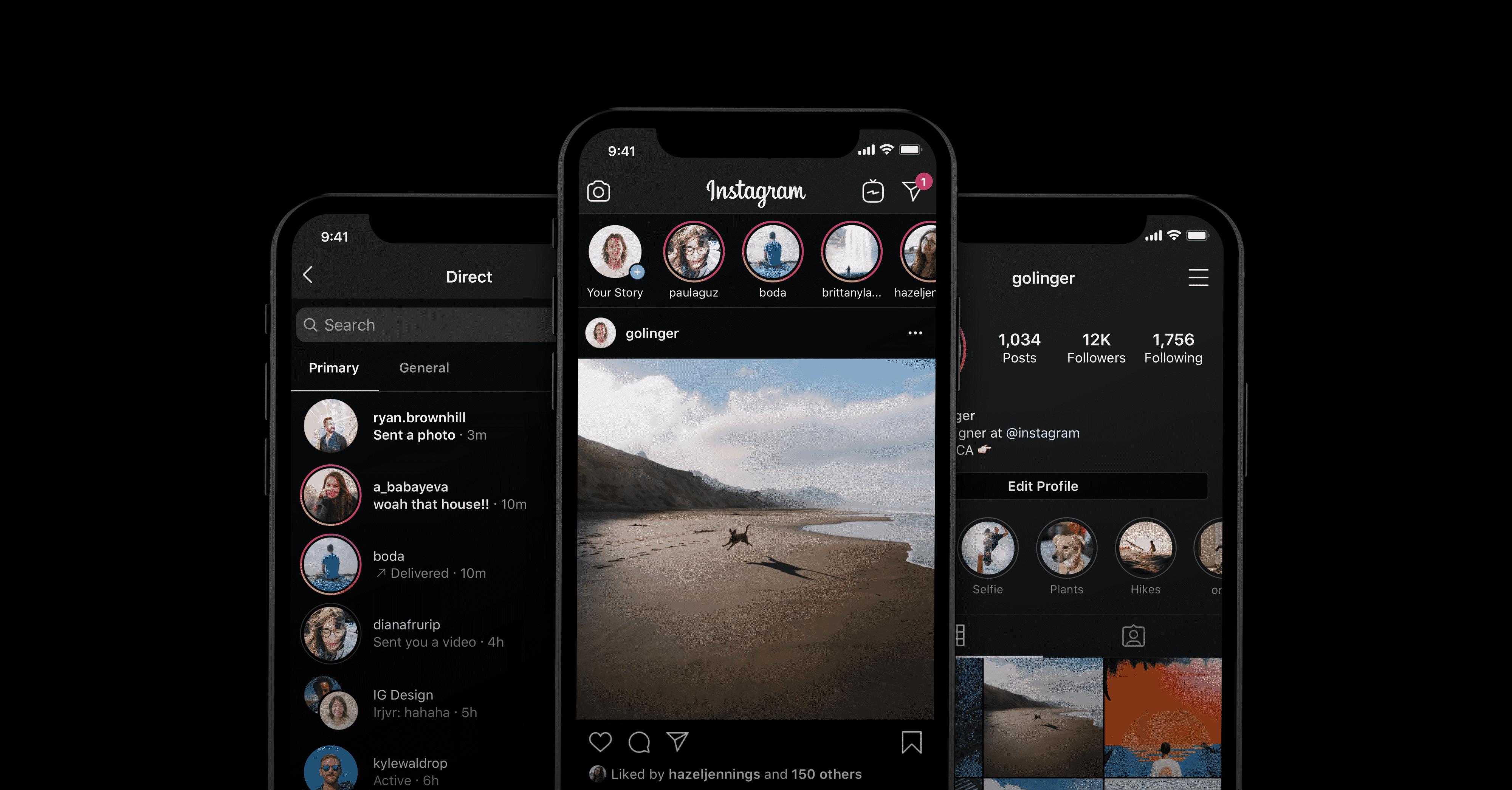 Tiga Fitur Baru Instagram, Mulai dari Dark Mode Hingga Batasi Stalking