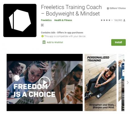 gdilab freeletics - Rekomendasi 5 Aplikasi untuk Jaga Kesehatan