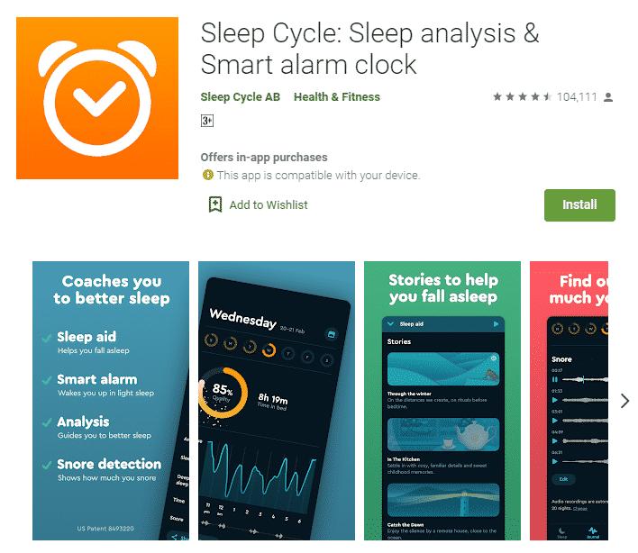 gdi sleep cycle alarm - Rekomendasi 5 Aplikasi untuk Jaga Kesehatan