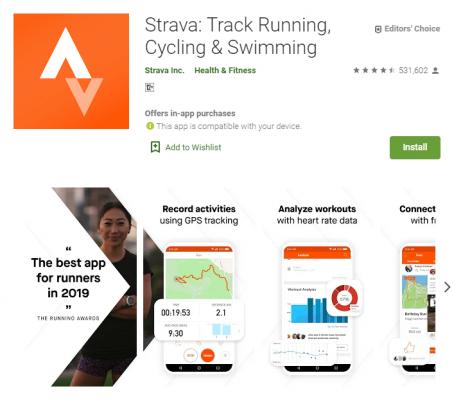 gdilab strava - Rekomendasi 5 Aplikasi untuk Jaga Kesehatan